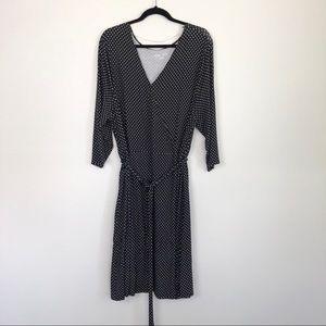 Ava & Viv Surplice Wrap Dress